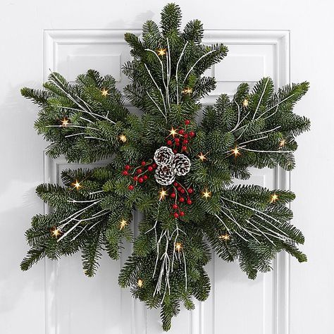Search for frosted fir wreath