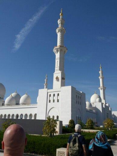 Moschea bianca Abu Dabi