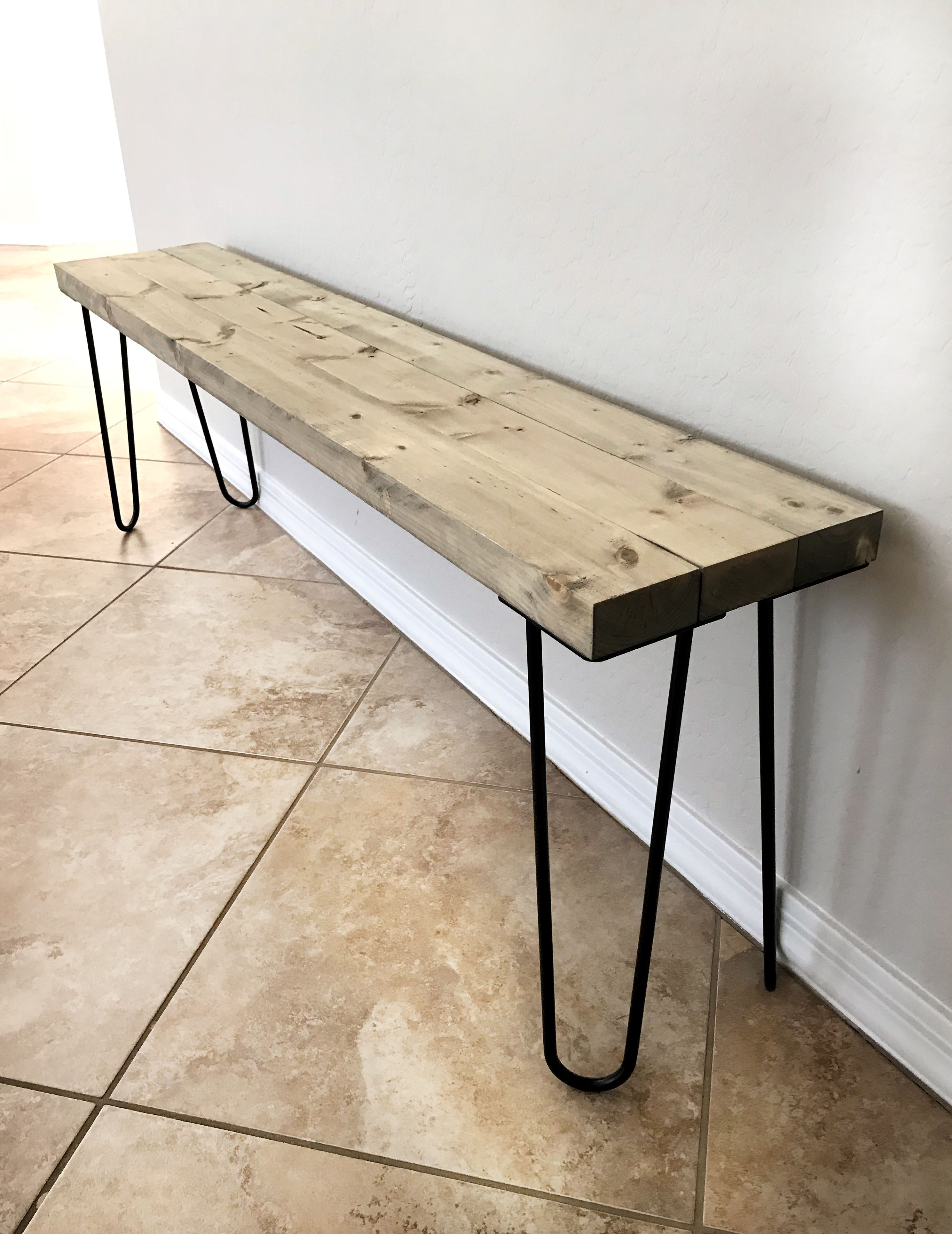 Terrific Diy Hairpin Leg Bench A Day In Grace Hairpin Legs Bench Camellatalisay Diy Chair Ideas Camellatalisaycom