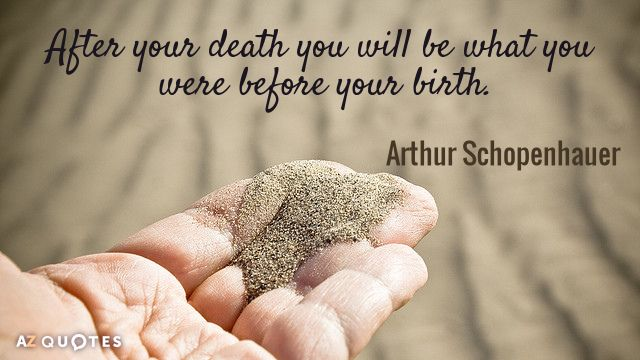 Quotes On Death After Your Death You Will Be What You Were Before Your Birth .