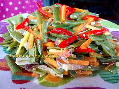 Resep Tumis Buncis Wortel Sederhana Resep Masakan Indonesia Homemade Resep Masakan Tumis Resep Masakan Indonesia