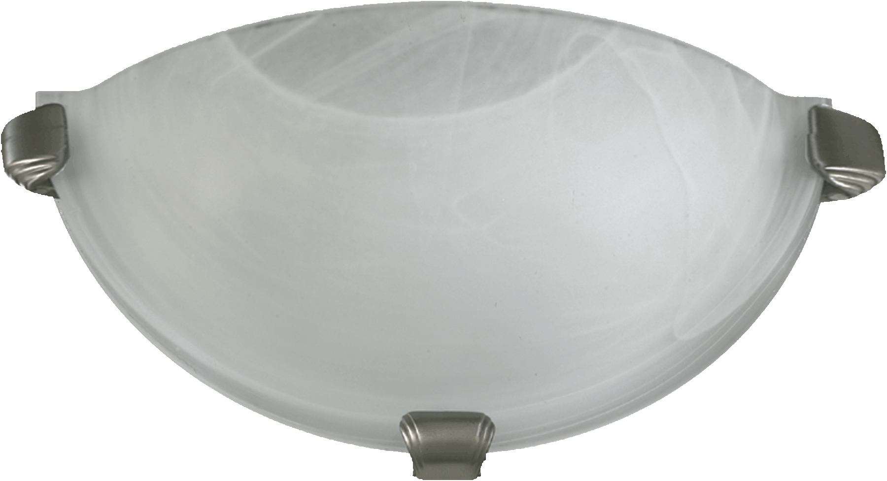 FAUX ALAB WALL SCONCE-SN