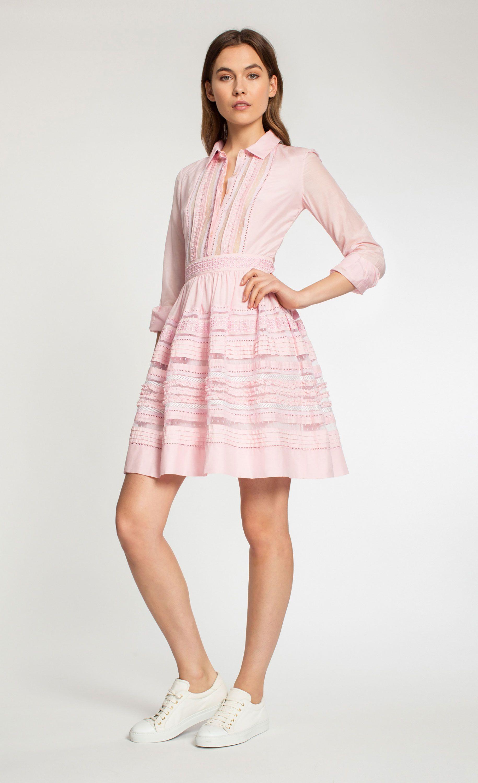 Temperley London Waterfall Shirt Dress   Designer Dresses ...