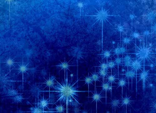 Winter Glittery Blue Texture  PowerpointPropresenter