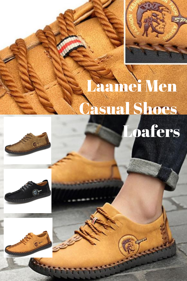 e18912891e Laamei 2018 Male Shoes Adult Men Casual Shoes Loafers Men Footwear Quality  Split Leather Shoes Men Flats Mocassin Homme
