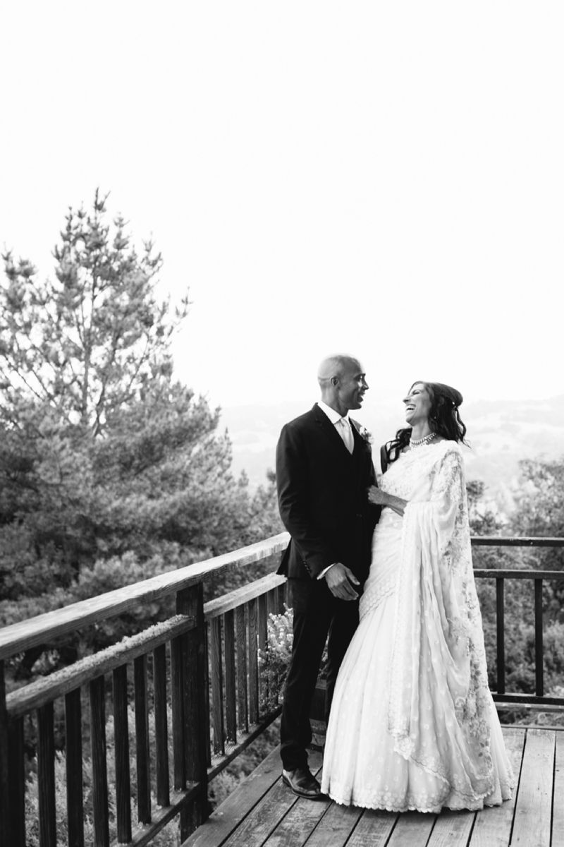 Absolutely gorgeous Indian American Thomas Fogerty Winery Wedding in Woodside, Cailfornia // SimoneAnne.com