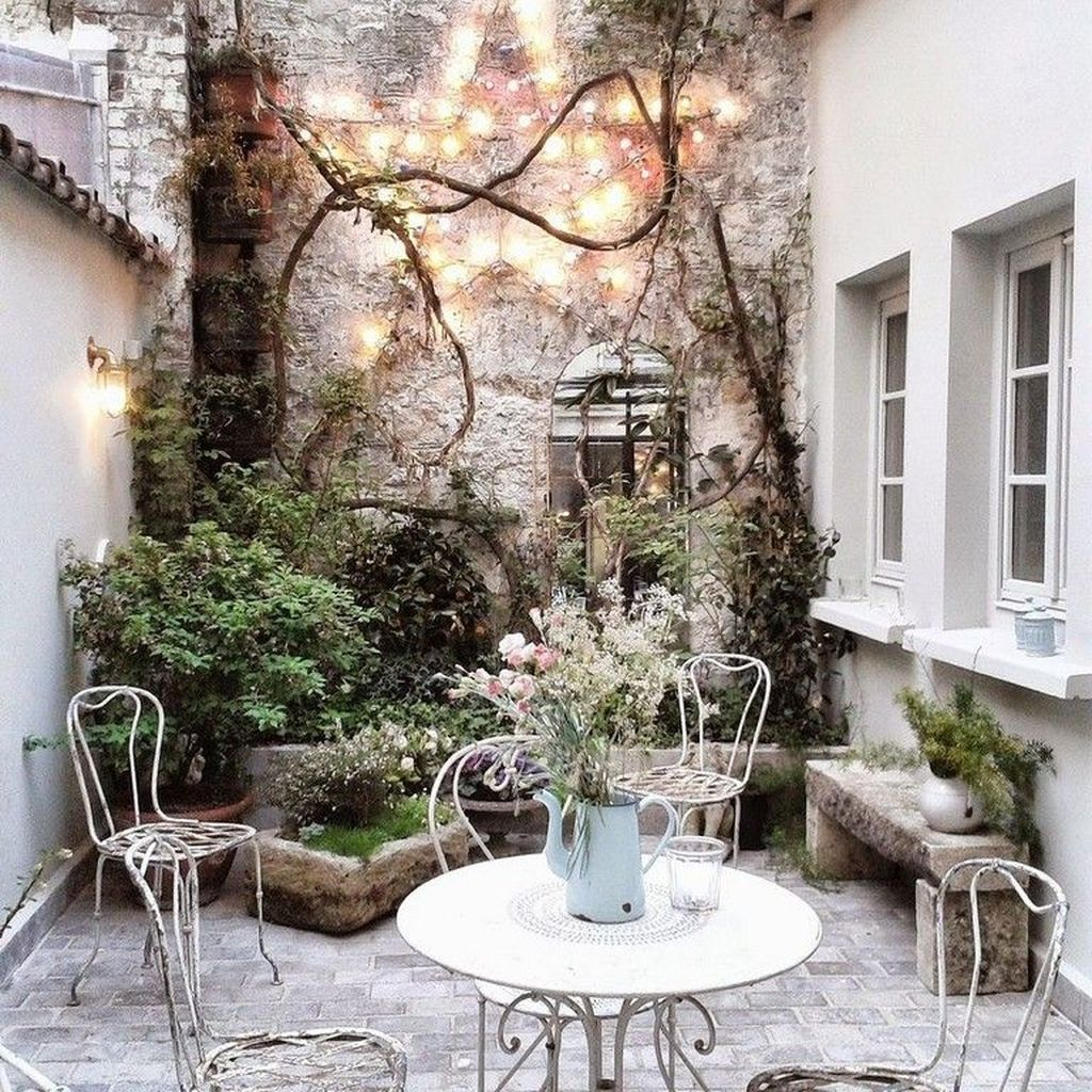 45+ Lovely Small Courtyard Garden Design Ideas For Home