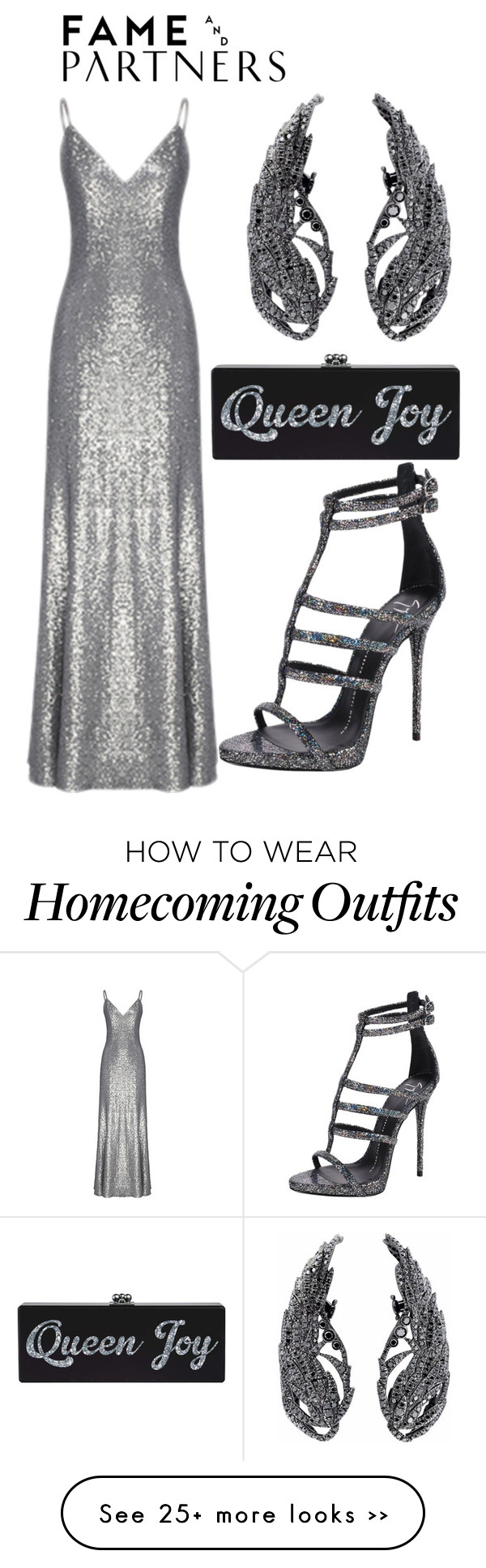 """Hello Homecoming with Fame & Partners: Contest Entry"" by deliadoro on Polyvore featuring Fame & Partners, Giuseppe Zanotti, StyleMyMuse and famebabe"