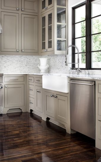 Kitchen Cabinets Color What Are The Sharpest Knives Dom V Tehase Home Designs Decor Pinterest Cabinet These May Not Be Too Bad It S Floor I Want Just Needs A Darker Backsplash And Counter