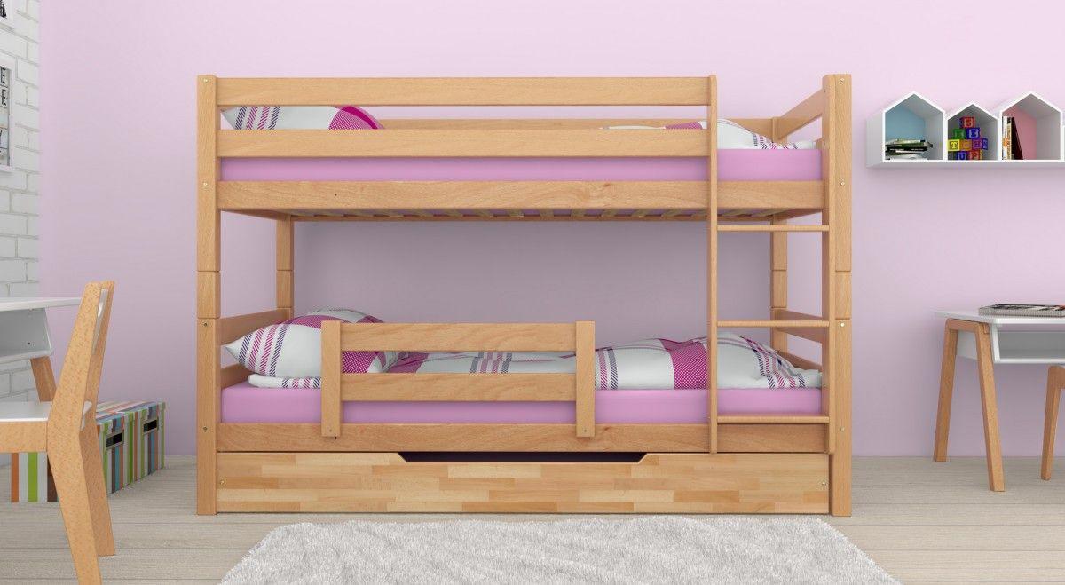 Etagenbett Für 3 Kinder : Etagenbetten kinder mit drei personen bettkasten
