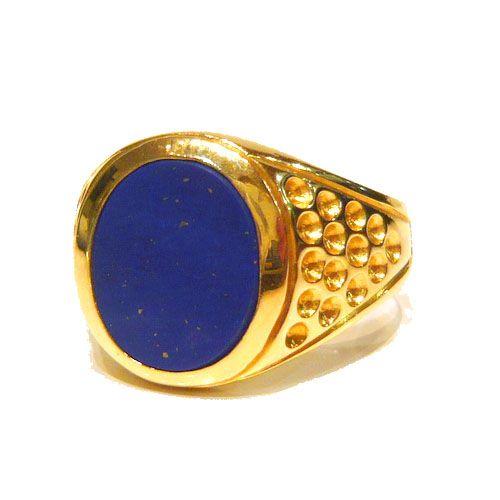 men s lapis lazuli rings
