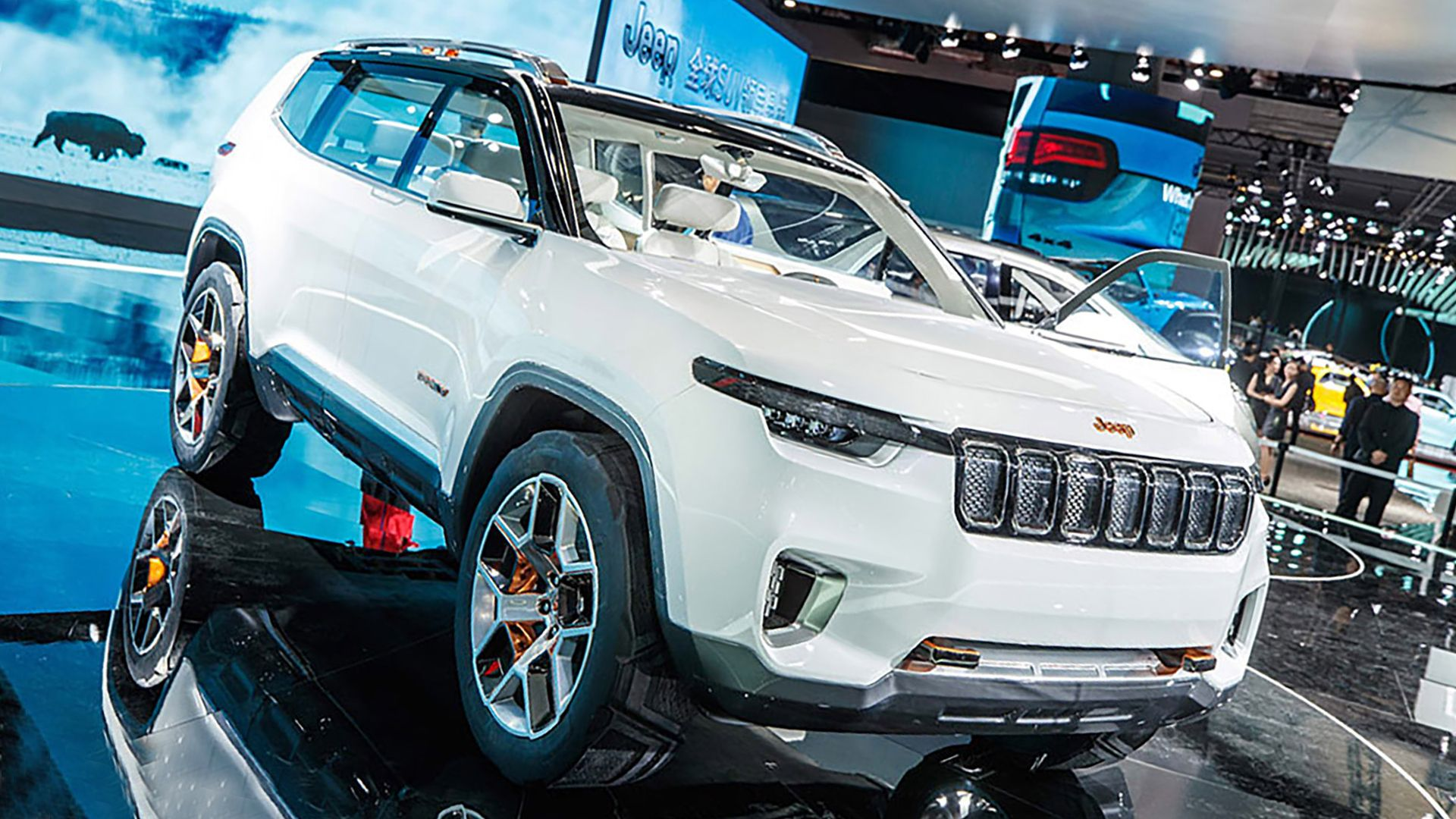 2019 Jeep Yuntu First Pictures Avtomobili