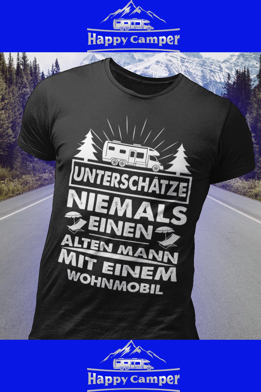 Wohnmobil Geschenk alter Mann Camping Camper Opa Spruch Sweatshirt