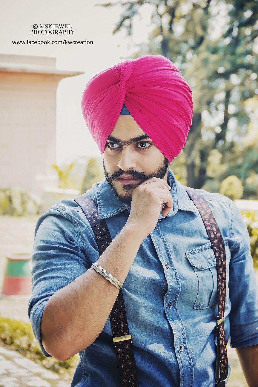 Sikh Fashion Pink Turban Mens Pinterest Turban Mens Fashion