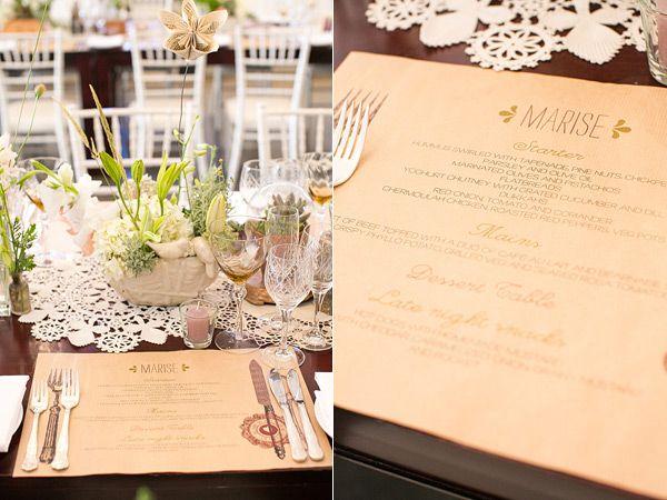 Botanical Stellenbosch Wedding Ruffled Wedding Table Decorations Wedding Wedding Table