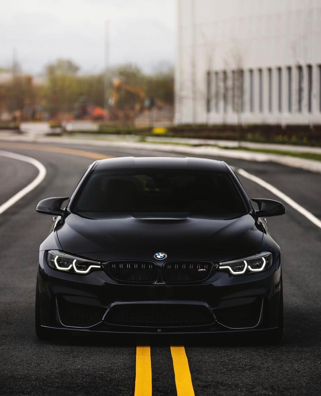 Bmw F82 M4 Competition Package In Black Sapphire Metallic