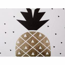 Photo of Decorative pillow pineapple cotton black / gold 45 x 45 cm Yasmin BelianiBeliani