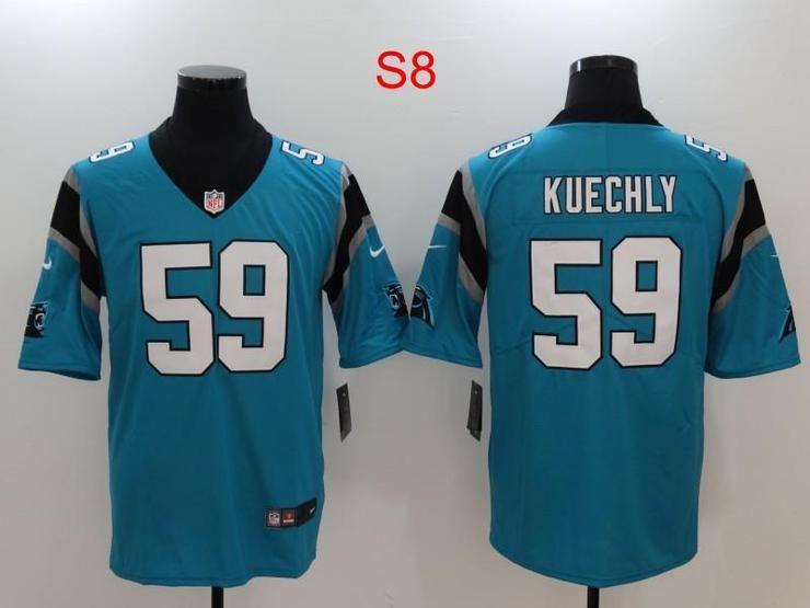 Men 59 luke kuechly jersey football carolina panthers jersey