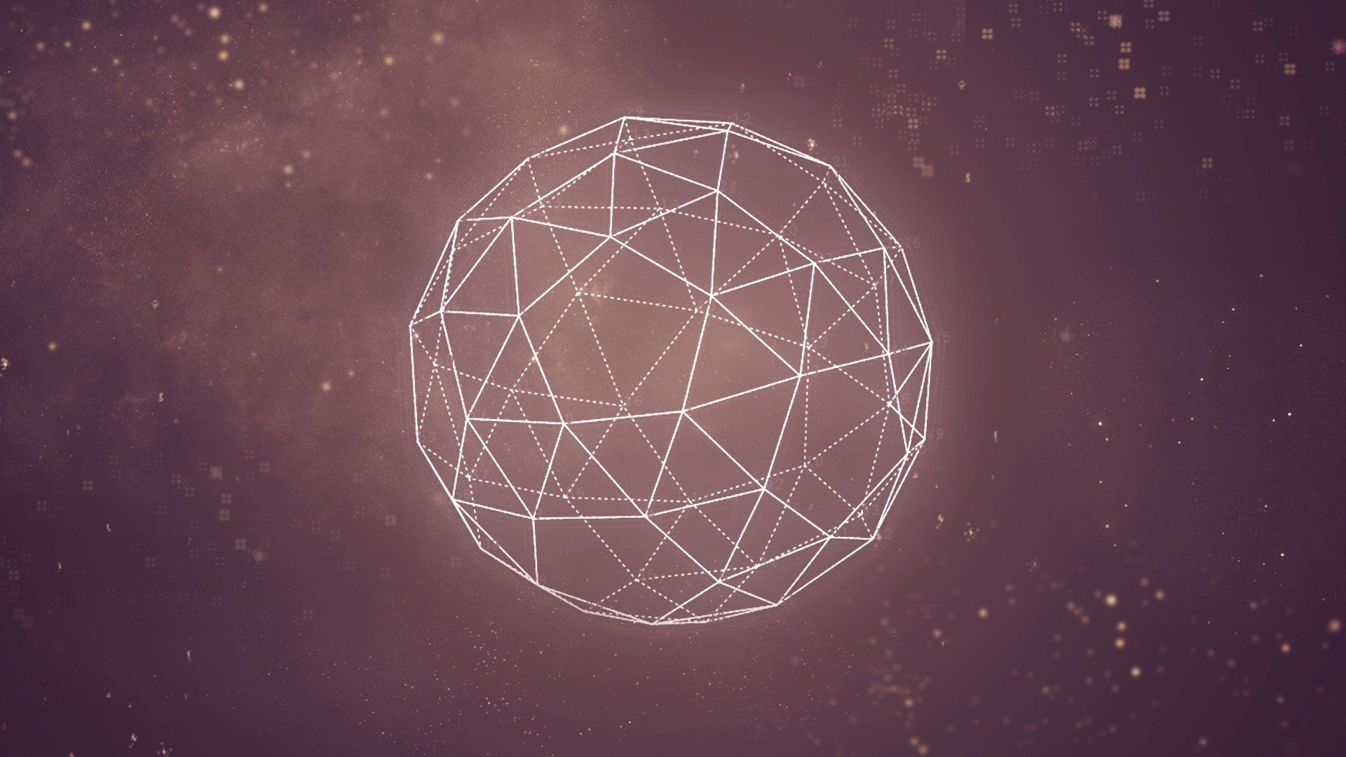 Space Abstract Graphic Wallpaper Geometry Minimalisti