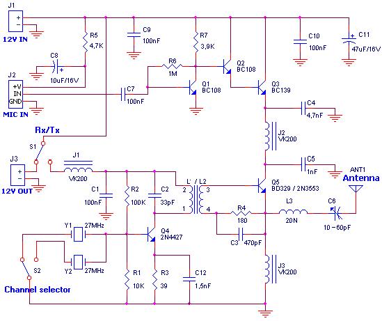CB Transmitter | Transmitter, Electronic kits, Cb radioPinterest