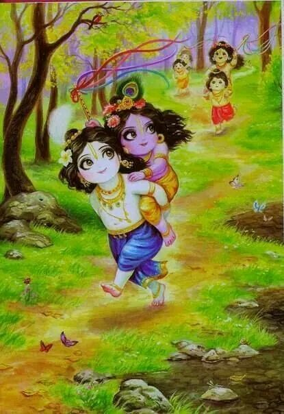 Cute Krishna With Images Lord Krishna Images Cute Krishna Radha Krishna Art