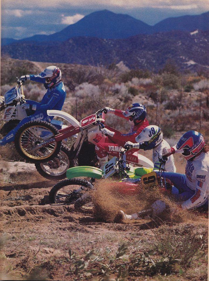 1987 500cc Shootout Vintage Motocross Motocross Motorcycle