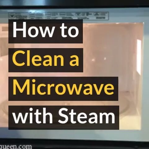 How to Steam Clean Your Microwave with Vinegar in