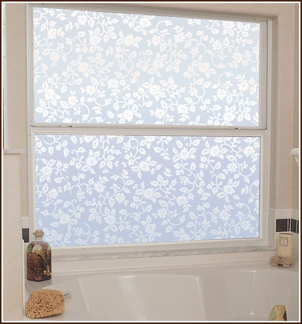High Quality Eden Static Cling Privacy Window Film   Frosted Glass Covering