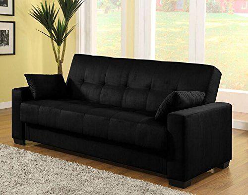 Peachy Pearington Mia Microfiber Sofa Sleeper Bed Lounger With Machost Co Dining Chair Design Ideas Machostcouk