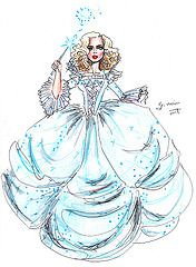Cinderella The Fairy Godmother G Nuinart Tags Original Cinema Art Fashion Illustration Design Sket With Images Disney Art Drawings Cinderella Fairy Godmother