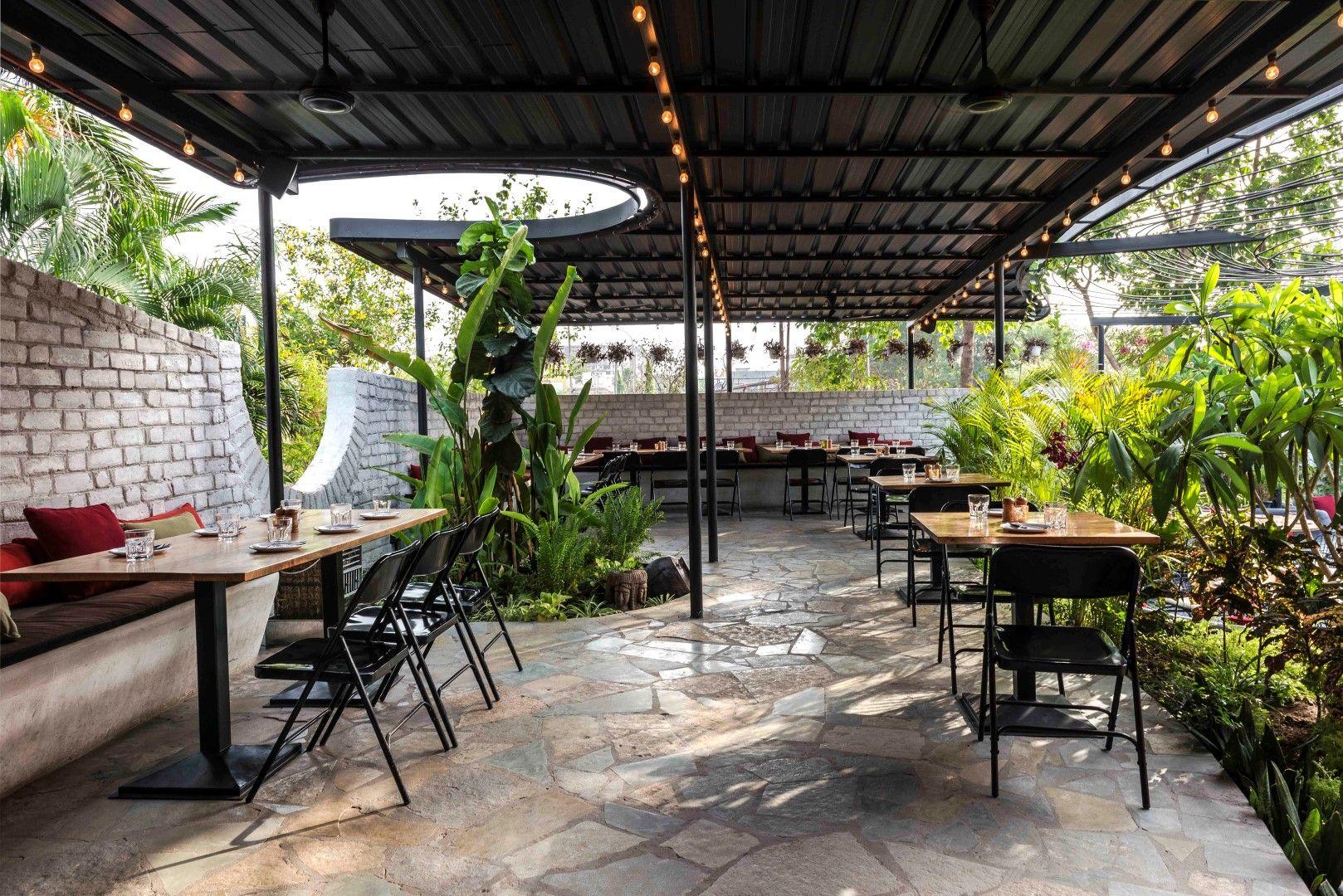 Think Of It Garden Restaurant Restaurant Interior