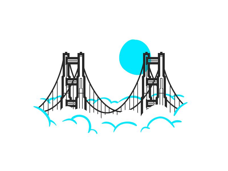 Golden Gate Bridge Tattoo Golden Gate Bridge Drawing San Francisco Tattoo