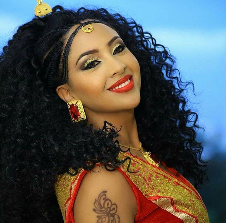 Wedding Hairstyles Ethiopian: Ethiopian Beauty, Wedding Hair Inspiration
