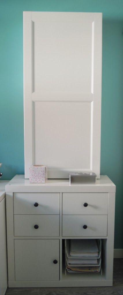 Mi llave allen un mueble para guardar la tabla de planchar con best plancha pinterest - Mueble de planchar ...