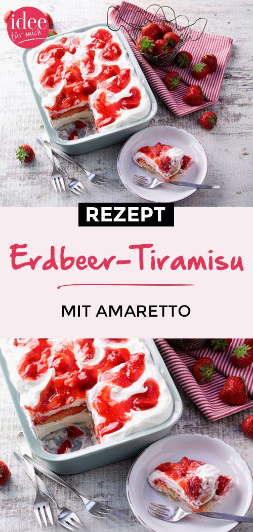 Schnelles Erdbeer-Tiramisu Rezept