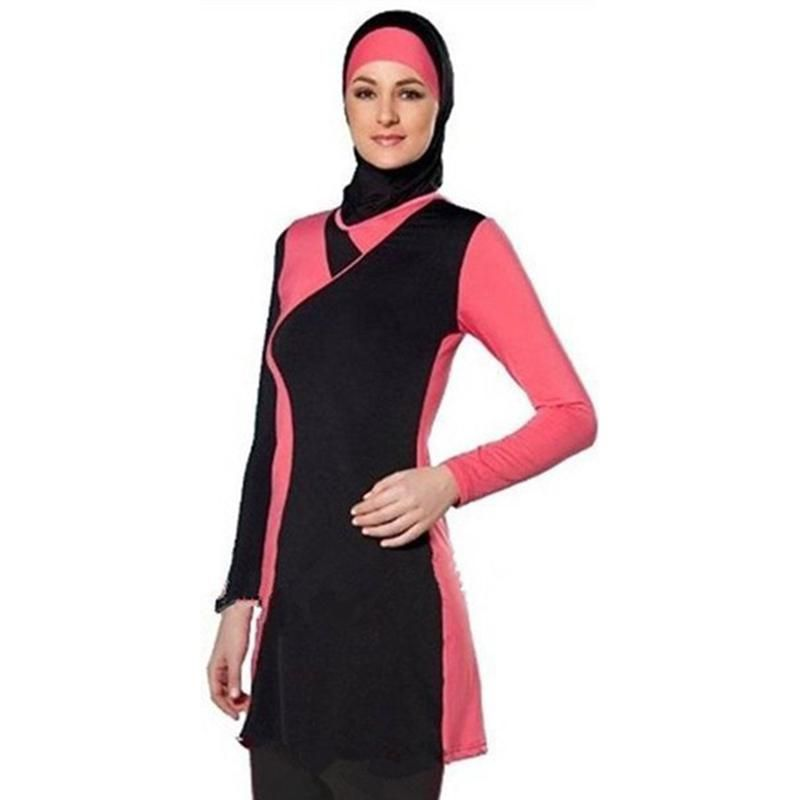 74968e6bc3c Plus size swimwear Islamic Swimwear Muslim Swimsuit Modest Islamic Sui – US  MART NEW YORK