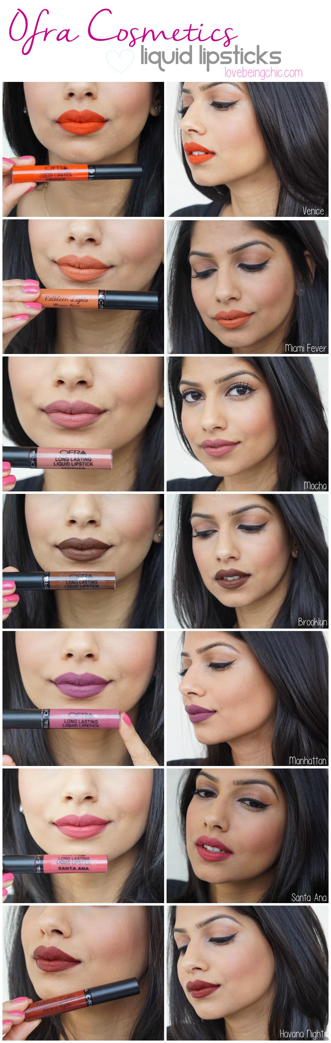 Ofra liquid lipsticks Ofra liquid lipstick, Liquid