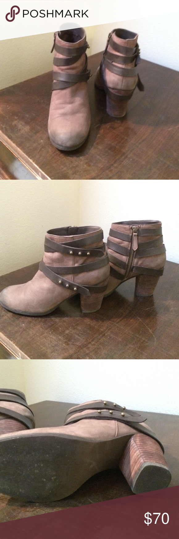 BP Trolley Bootie BP Trolley Bootie SIZE 7 *Great Condition* *real leather* bp Shoes