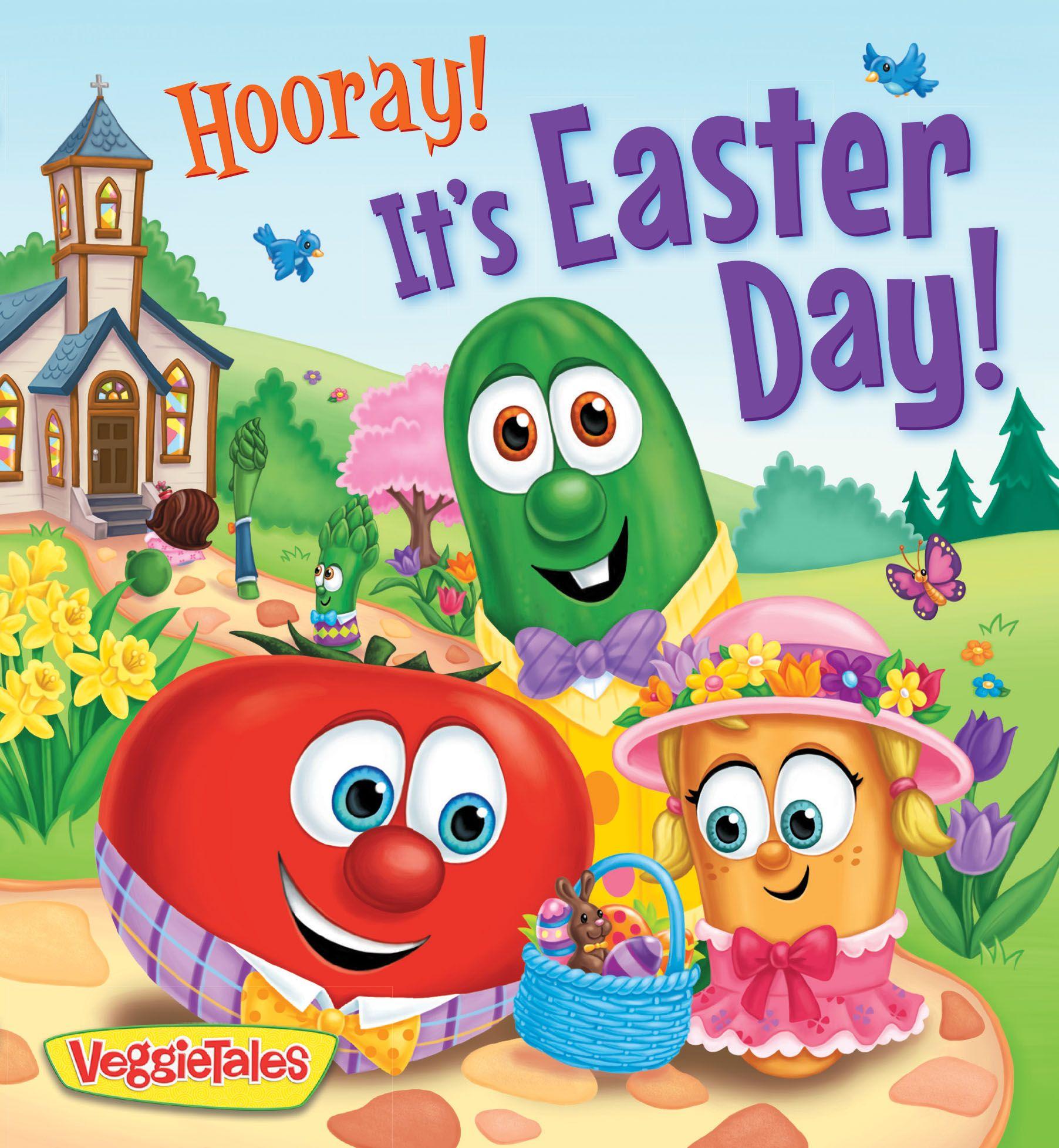 Veggietales Hooray It S Easter Day Veggietales Easter Books Easter Colouring