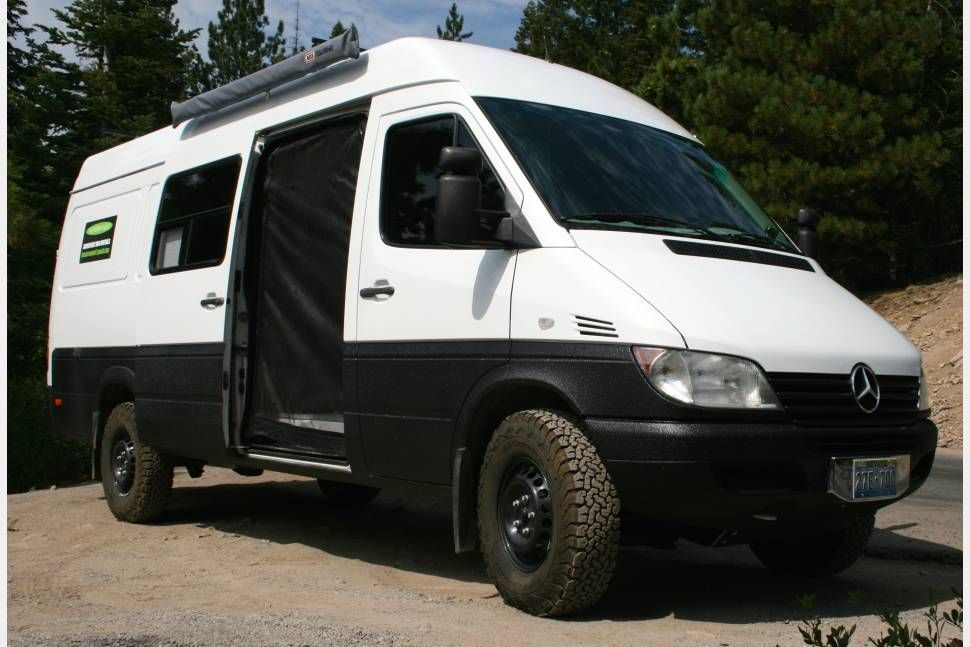 2005 Dodge Mercedes Sprinter Sprinter Adventure Van Get Out