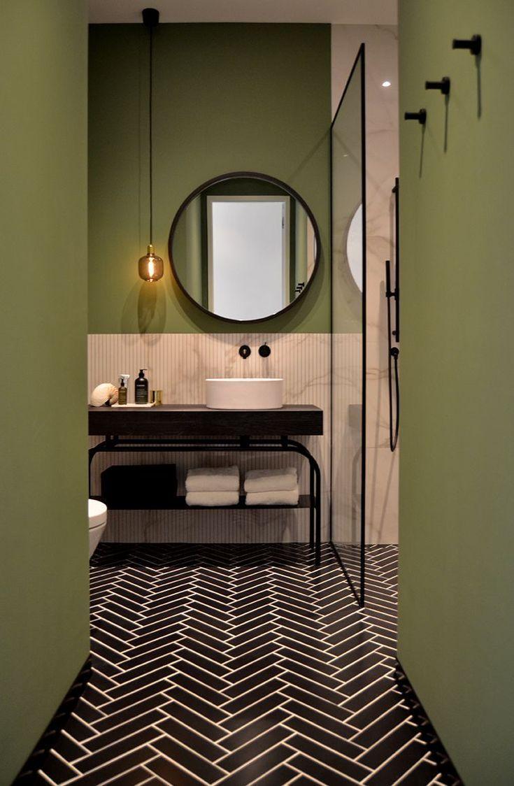 Bathroom design, Amsterdam canal house – By Ann-Interiors #bathroomdesignnatur...#amsterdam #anninteriors #bathroom #bathroomdesignnatur #canal #design #house