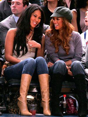 Kimora Lee Simmons and Tyra Banks