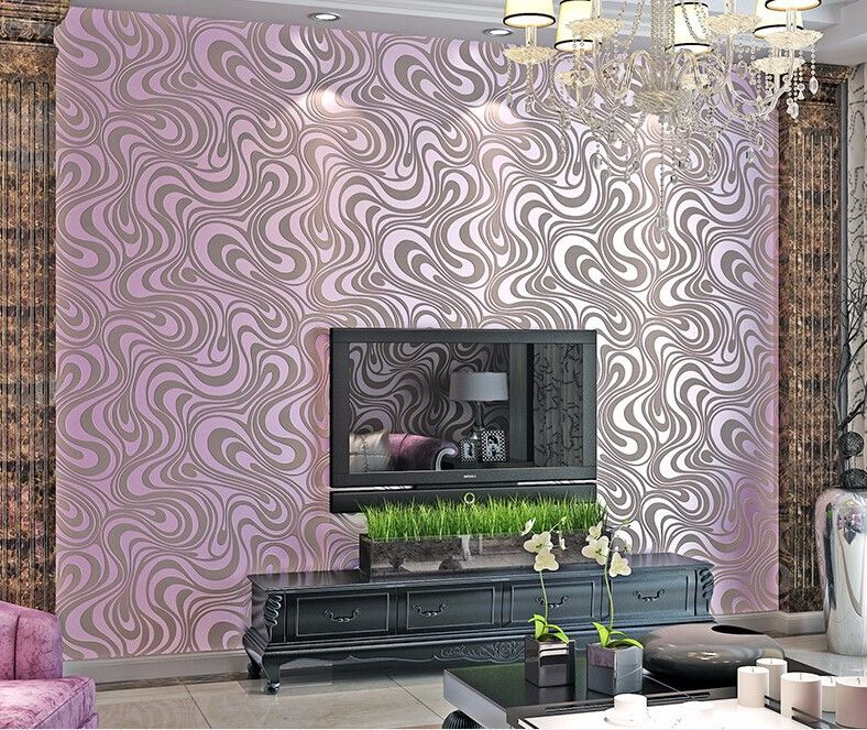 High Quality 0 7m 8 4m Modern Luxury 3d Wallpaper Roll Mural Papel De Parede Flocking For Striped Wall Paper 5 Color R 3d Wallpaper Roll 3d Wallpaper Wallpaper