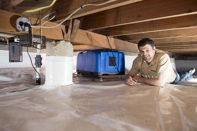 Crawl space encapsulation comments and reviews (scroll