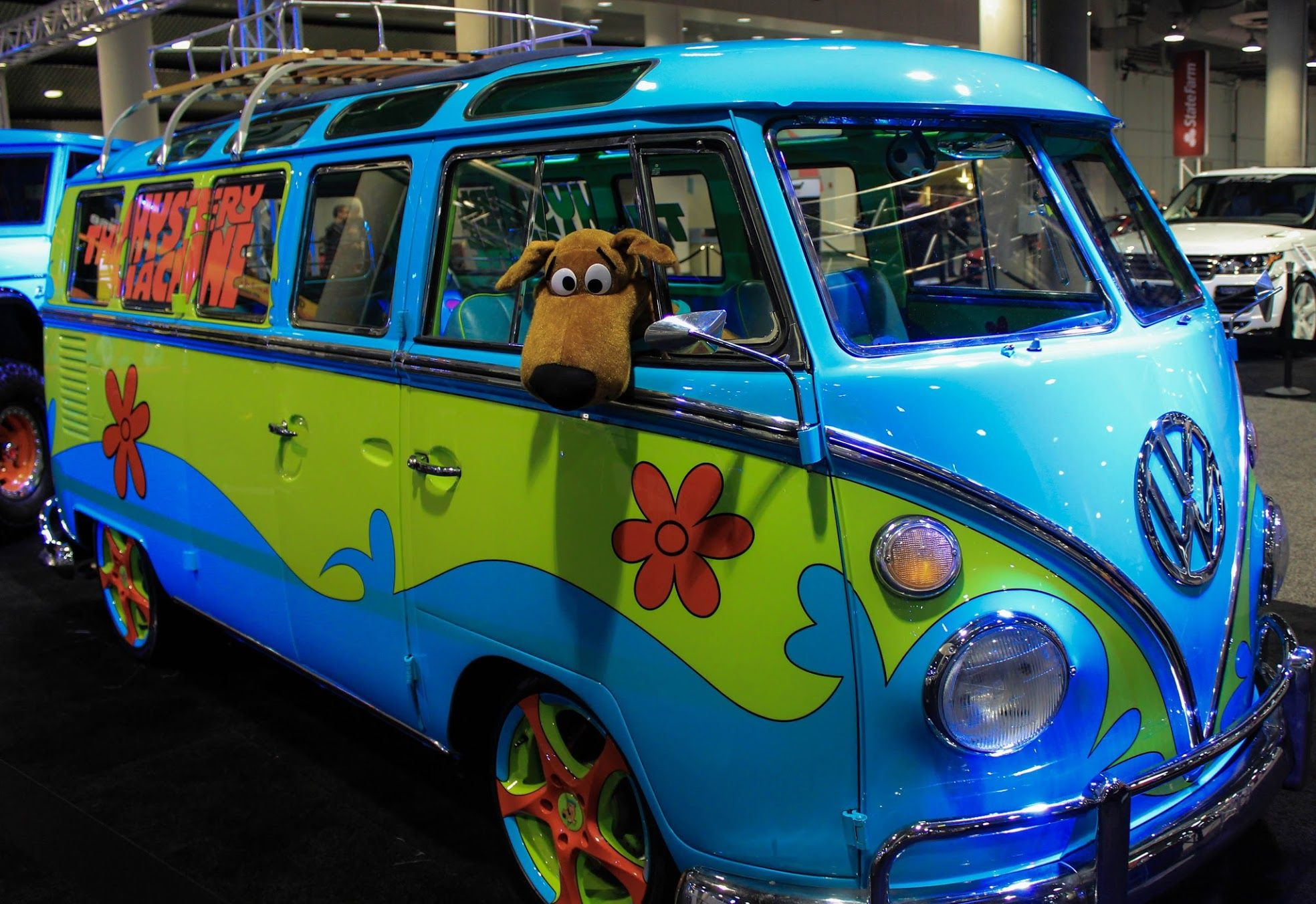 mystery machine vw bus hippy happiness vw obsession. Black Bedroom Furniture Sets. Home Design Ideas