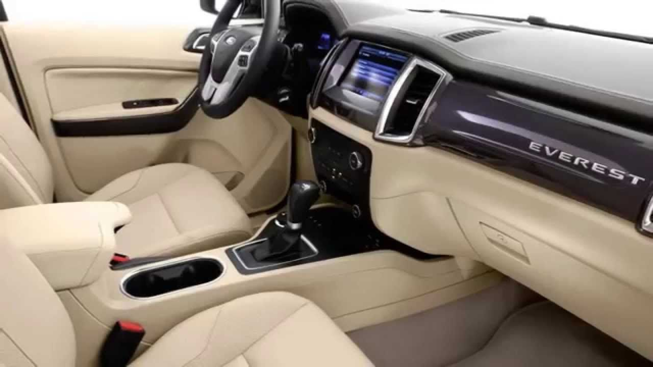 2017 Ford Everest Spec Interior