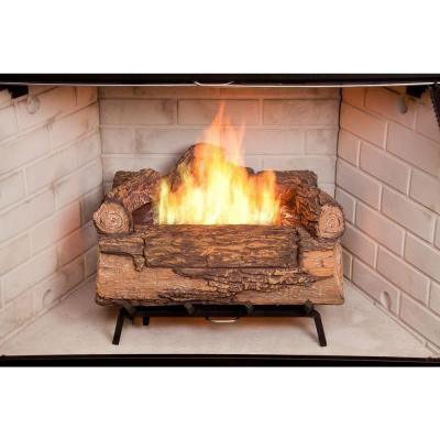 Bio-Ethanol Fireplace Logs-61000 - The Home Depot - Duraflame Illuma 18 In. Bio-Ethanol Fireplace Logs-61000 - The