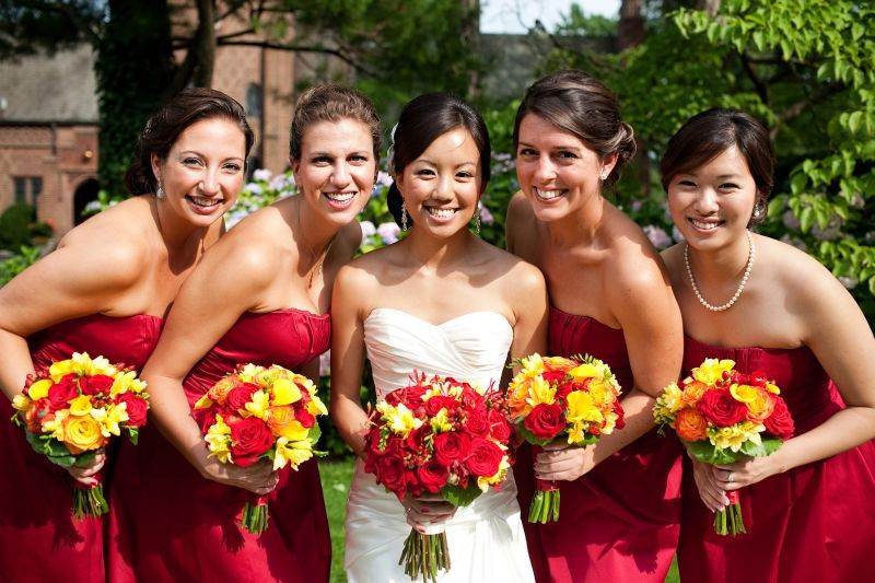 I like the red and yellow combo | Wedding Ideas | Pinterest ...