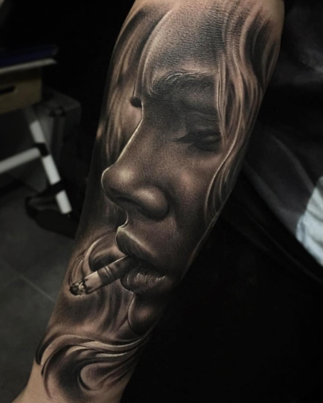 Tattoo By Fred Thomas Fredytattoos Exotictattoomurica Realism Surreal Realist Black And Grey Tattoos Black And Grey Tattoos Sleeve Realistic Tattoo Sleeve