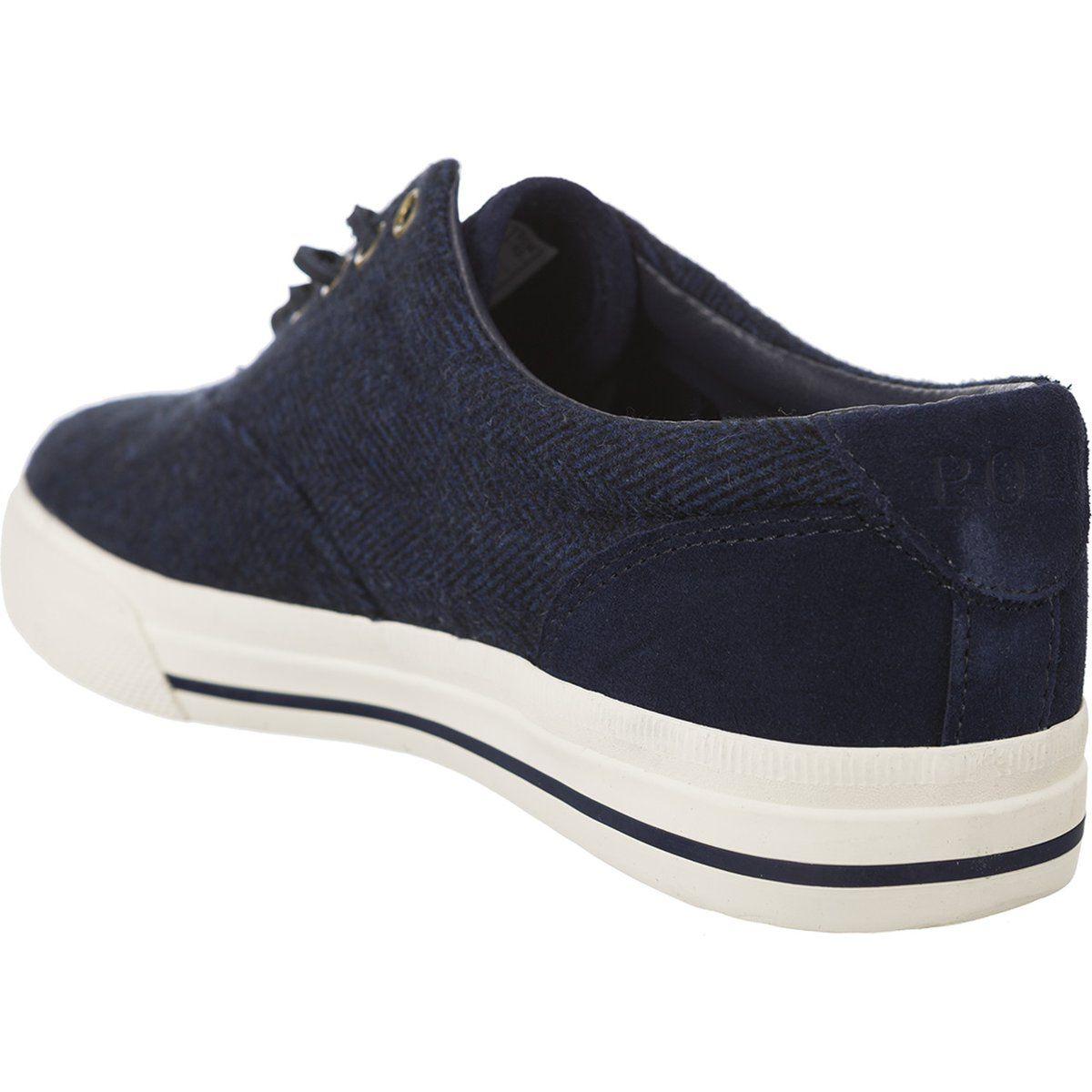 Polbuty Meskie Poloralphlauren Polo Ralph Lauren Granatowe Vaughn 816672078001 Sneakers Slip On Sneaker Polo Ralph Lauren